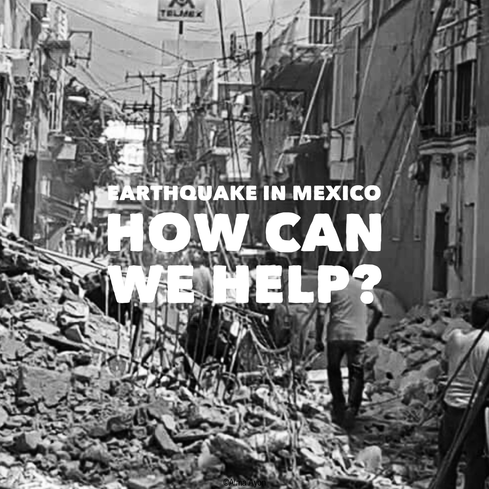 Earthquake in Mexico: how can we help?