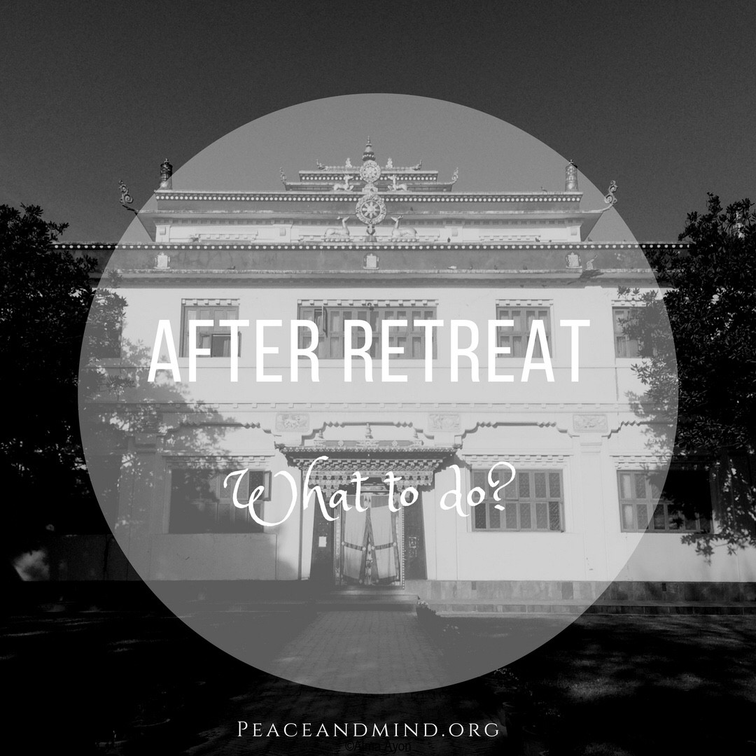 How to give continuity to your meditation practice after a retreat